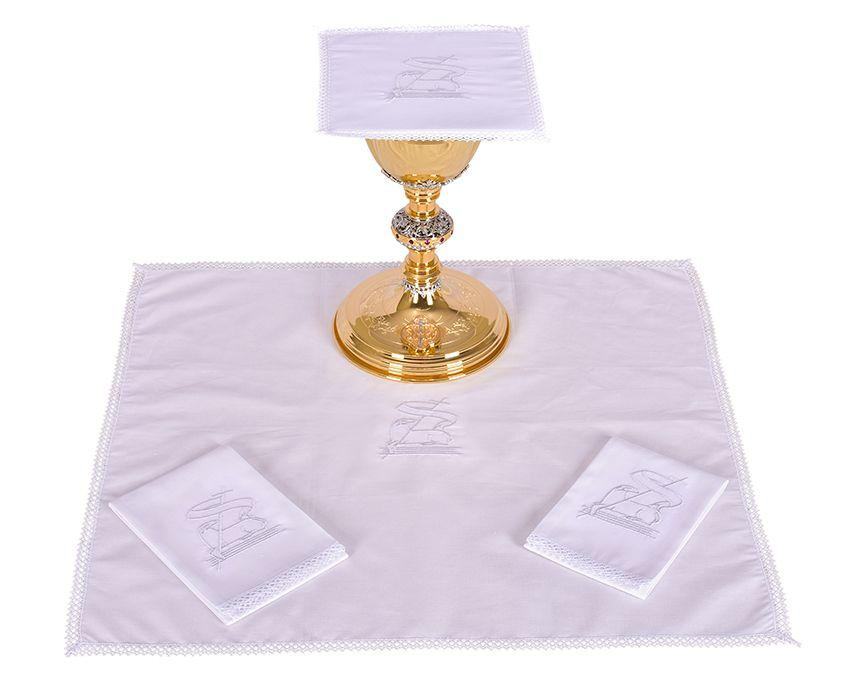 Conjunto de Altar Algodón Cordero B008