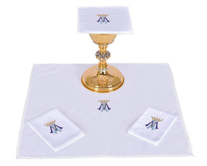 Conjunto de Altar Algodón Mariano B001