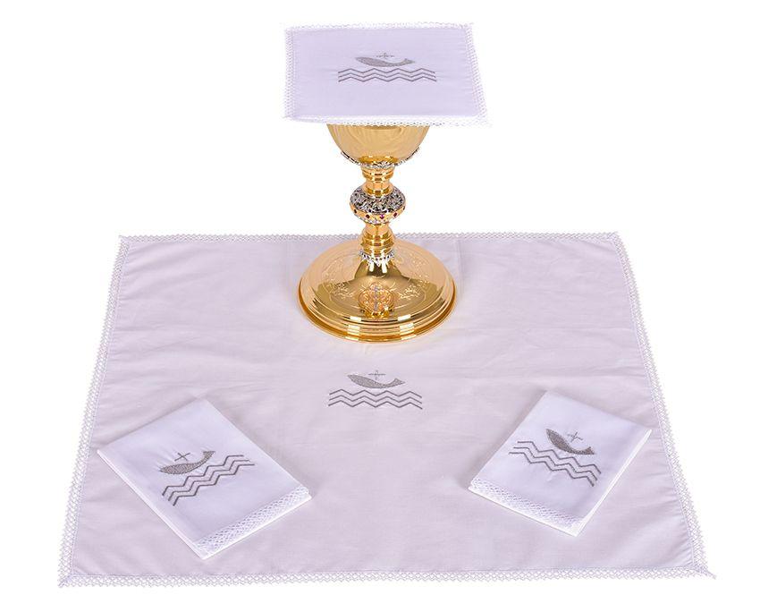 Conjunto Paños de Altar Algodón Papa Francisco B185