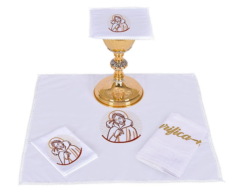 Conjunto de Altar Algodón Buen Pastor CA105