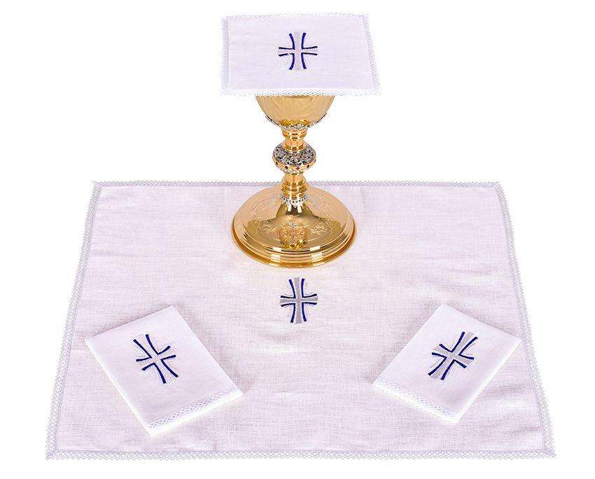 Conjunto de Altar Lino Cruz B011