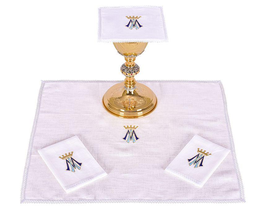 Conjunto Paños de Altar Lino Mariano B001