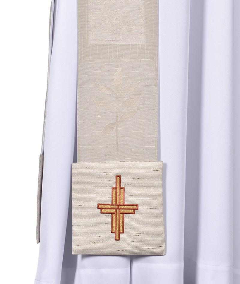 Estola Diaconal Capa de Asperges Jerusalém ED906