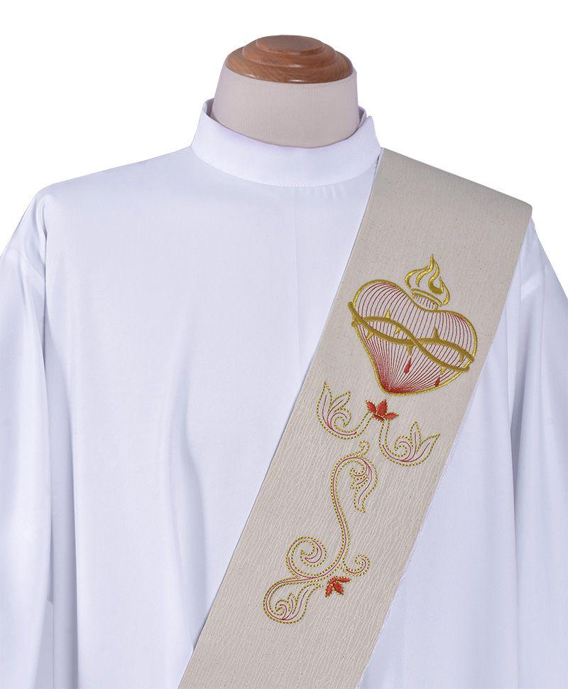 Estola Diaconal Sagrado Corazón ED452