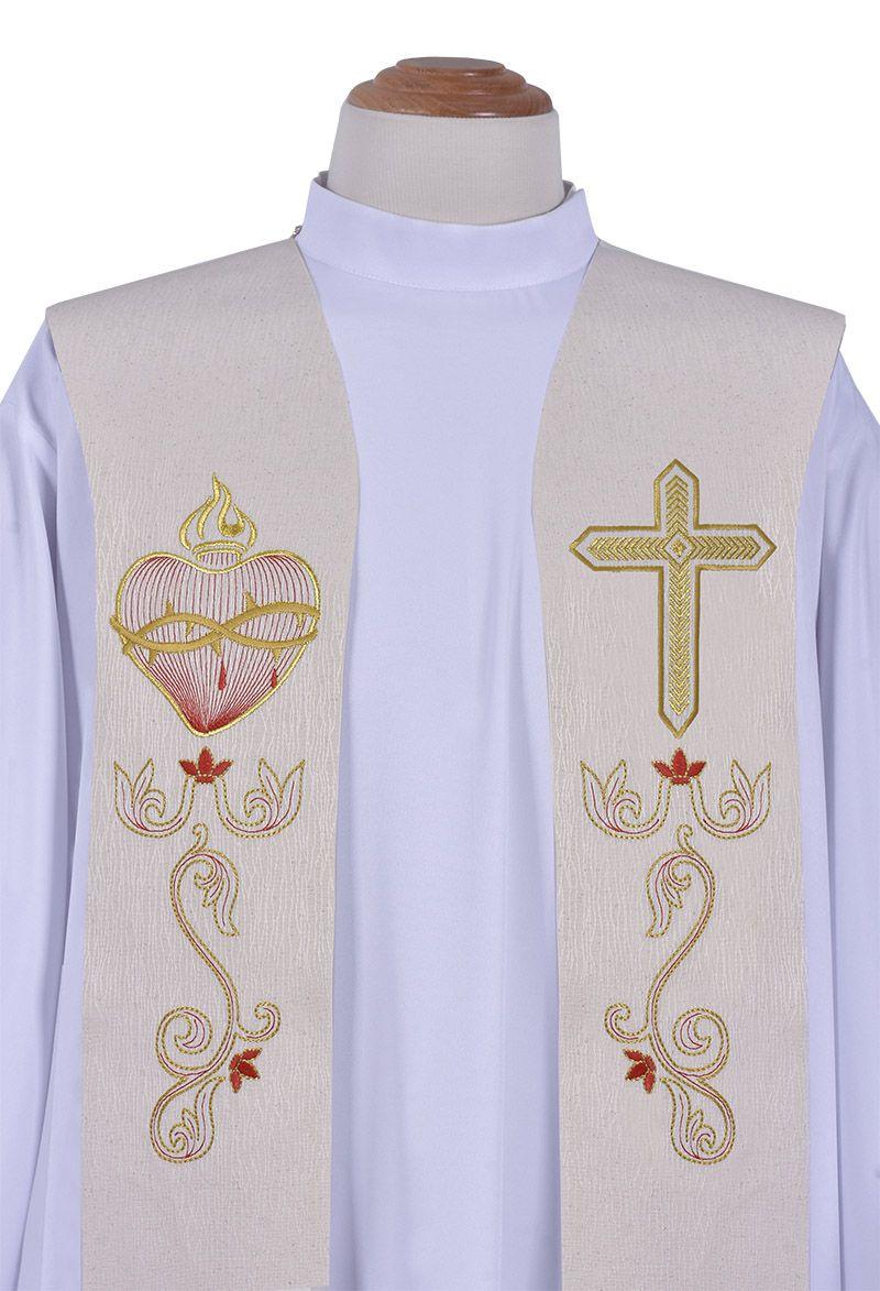 Estola Sacerdotal Sagrado Corazón ES051