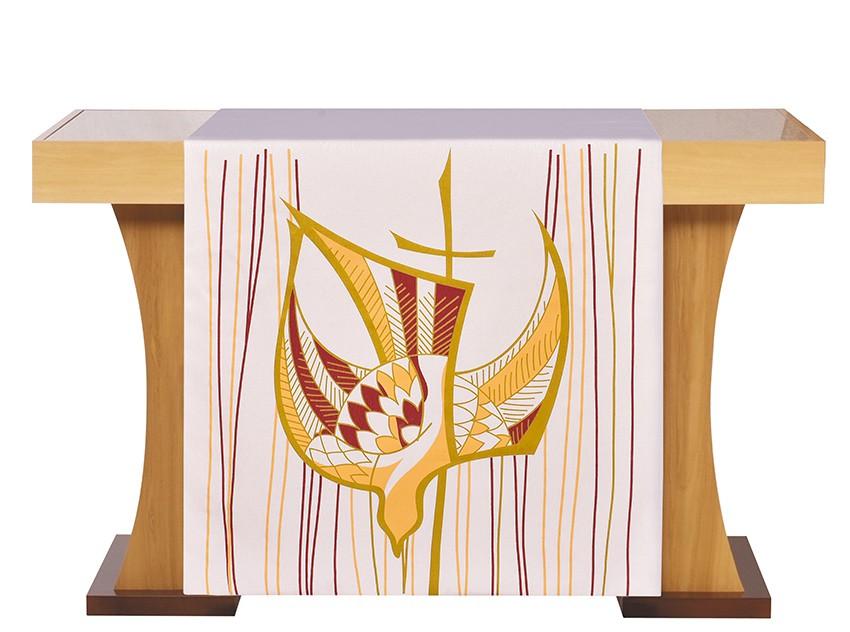 Paño de Altar Pentecostés Beige S203