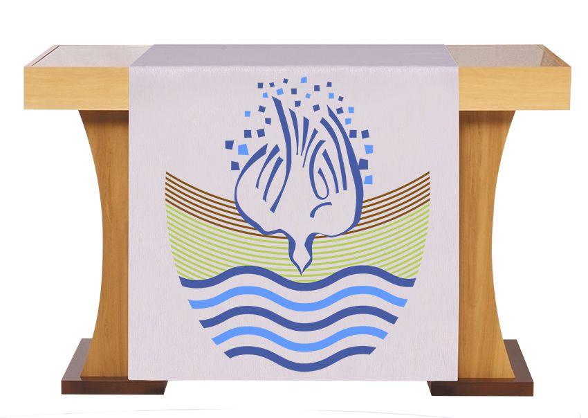 Paño de Altar y Atril Bautismo S225 S226