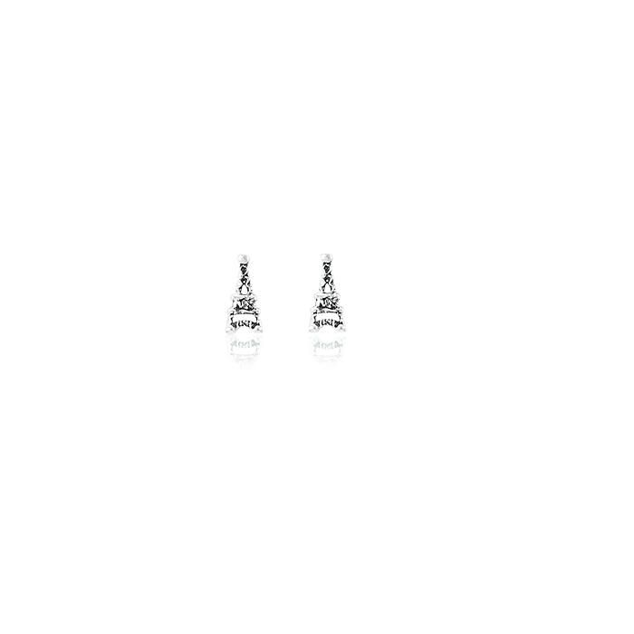 Brinco Prata 925 Torre Eiffel