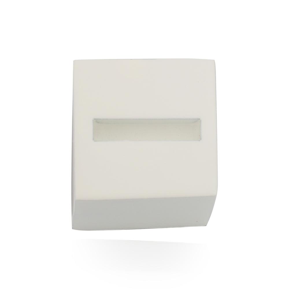 Expositor Quadrado Branco para anel