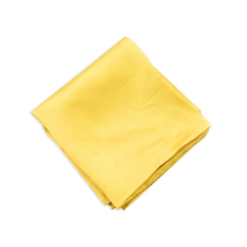 Lenço Dourado Liso