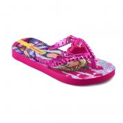 Chinelo Barbie Princesa Rosa Rosa Metalizado - 26459
