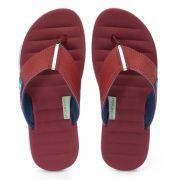 Chinelo Cartago Malaga Branco Vermelho Azul - 10954