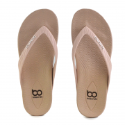 Chinelo Boa Onda Happy Rose Nuda Areia - 1947-200