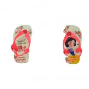 Chinelo Havaianas  Baby Princess Bege Palha -4139481