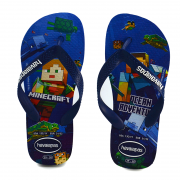 Chinelo Havaianas Kids Minecraft Branco - 4145125
