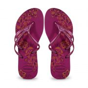 Chinelo Havaianas Nova Tria Rosa Hollywood - 4141197