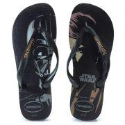 Chinelo Havaianas Star Wars Preto Preto - 4135185