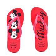Chinelo Havaianas Top Disney Vermelho Rubi Vermelho - 4139412