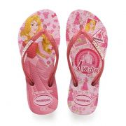 Chinelo Infantil Havaianas Kids Princesa Aurora Rosa Quartz - 4123328