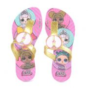 Chinelo Infantil Lol Surprise Lilas Ouro Gliter - 21889