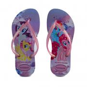 Chinelo Infantil Menina Slim Kids Mpl Lavanda - 4144514