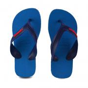 Chinelo Infantil Menino Havaianas Marinho Azul Aço - 4130090