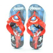 Chinelo Ipanema Avenger Combat Azul Vermelho - 26160