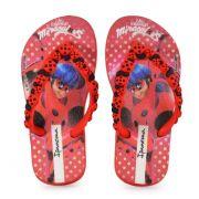 Chinelo Ipanema Lady Bug Infantil Meninas Vermelho Vermelho Preto-26123
