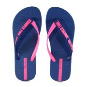 Chinelo Ipanema Summer Time Azul Rosa - 26313
