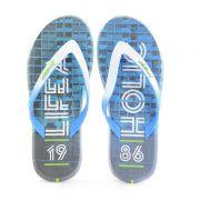 Chinelo Rider R1 Energy Azul Branco - 10719