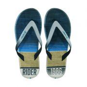 Chinelo Rider R1 Energy Branco Azul - 10719