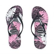 Chinelo Slim Surf Floral