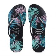 Chinelo Slim Tropical Floral