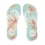 Chinelo Tropical Square