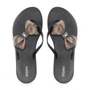 Chinelo Zaxy Fresh Sunset Preto - 17655