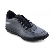 Chuteira Nike Society Bravatax Ii Preto Cinza - 844437-004