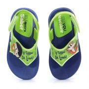 Sandalia Grendene O Show Da Luna Aha Baby Infantil Meninas Azul Verde-21453