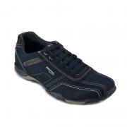 Sapatenis Pegada Masculino Jeans Blue Napa Preto-112672-06