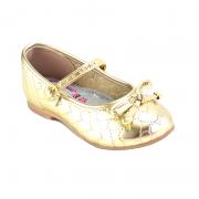 Sapatilha Molekinha Bebe Dourado - 21061015