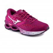 Tenis Feminino Mizuno Wave Creation 21 Rosa Prata - 4144890