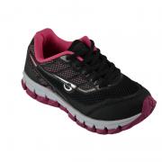 Tenis Glk Infantil Meninas Preto Pink-05