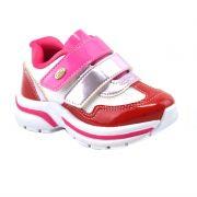 Tênis Infantil Kidy Promoção Vermelho Pink - 108-0011-1343