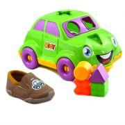 Tênis Infantil Menino Kidy Colors Camel - 0080481