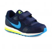 Tenis Infantil Menino Nike Md Runner 2 Azul Marinho Lima - 807317-415