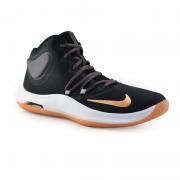 Tênis Masculino Nike Cano Alto Air Versitile Iv Preto Dourado - At1199-006