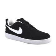 Tênis Masculino Nike Court Borough Low Preto Branco - 838937-010