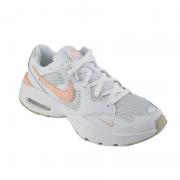 Tenis Nike Feminino Branco Coral- Cj1671-101