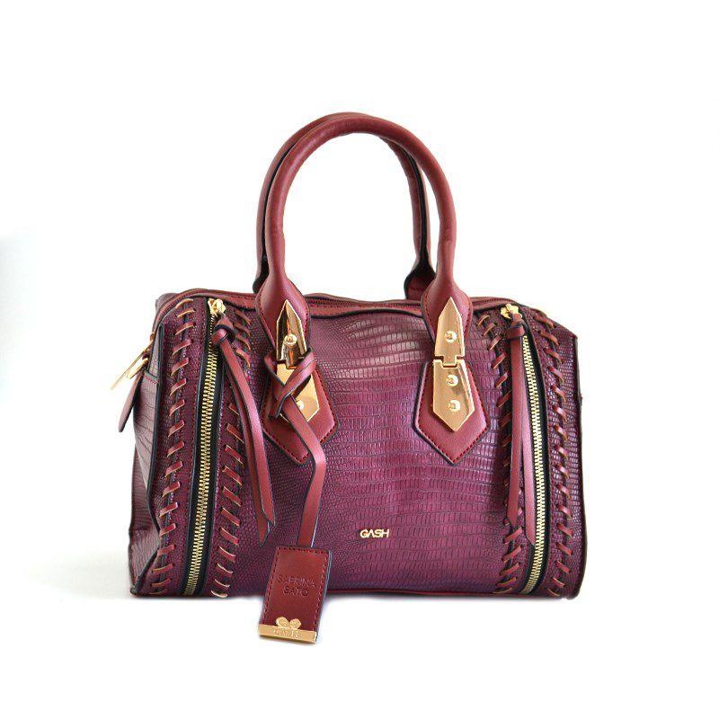 Bolsa Feminina Gash Vinho - Bs69109