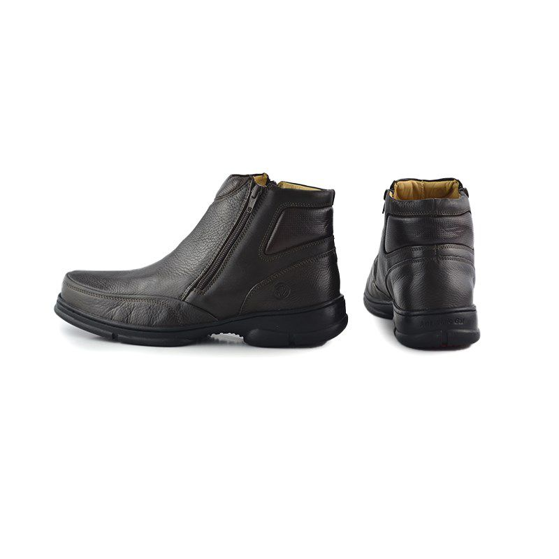 Bota Anatomic Gel Cano Baixo Brown - 7887