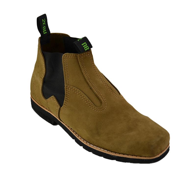 Botina West Boots Nobuck S-Pneu Castor - 010
